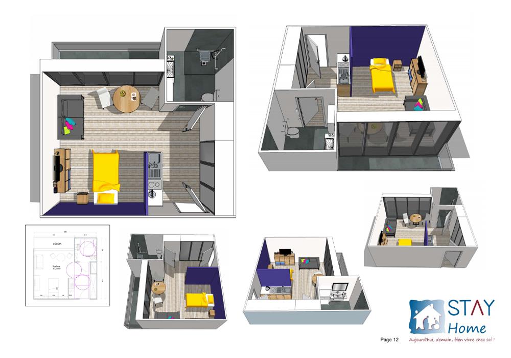 Projet d''aménagement et de construction de 20 logements résidence autonomie 0